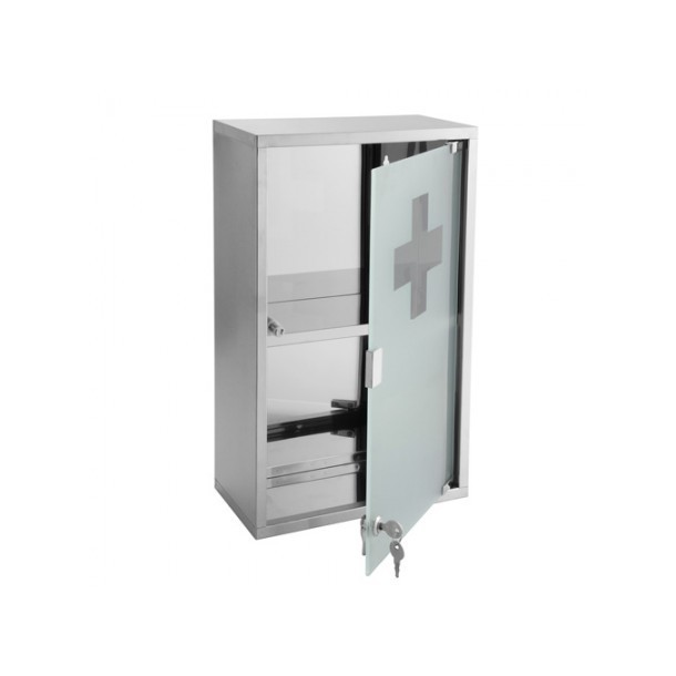 Armoire pharmacie chrome genoa - Armoire a pharmacie derriere la porte ...