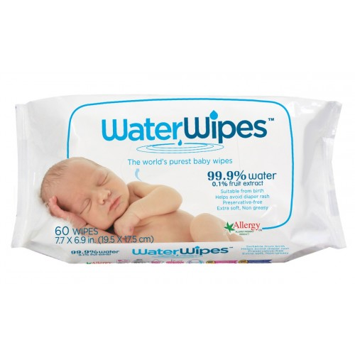 Lingettes Waterwipes x60
